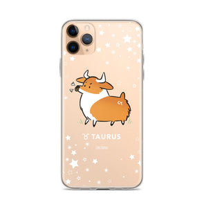 Taurus | Corgi Horoscope iPhone Case