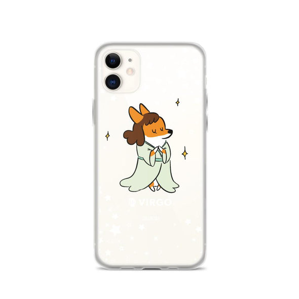 Virgo | Corgi Horoscope iPhone Case
