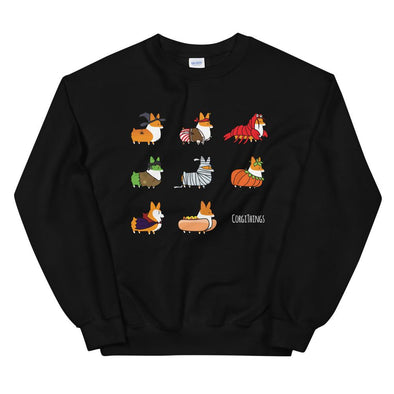 "NEW! ""Corgis in Costumes"" Sweatshirt 