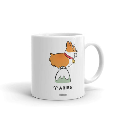 Corgi Horoscope Ceramic Mug | 11oz or 15oz