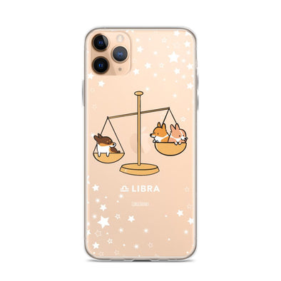 Libra | Corgi Horoscope iPhone Case