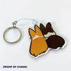 "Corgi Things Charms NEW! ""Best Furiends Furever"" Corgi Charm"
