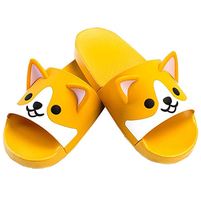 Corgi Non-Slip Shower Sandals