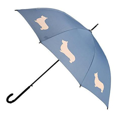 The San Francisco Umbrella Company Welsh Corgi Stick Umbrella