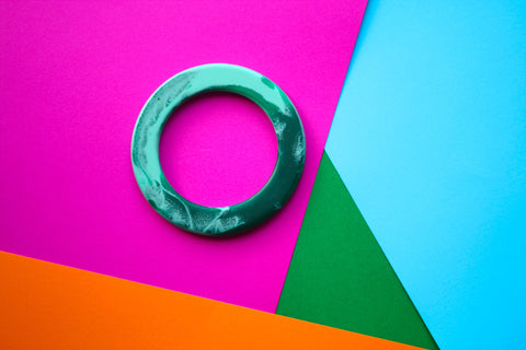 bangle - green + blue