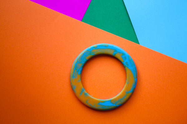 bangle - blue + orange