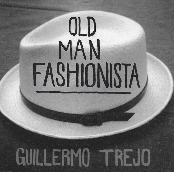 Old Man Fashionista is a limited edition publication that features photography by Guillermo Trejo of old men who dress well with hats and is the third publication from PDA Press