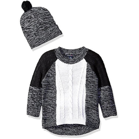 Limited Too Girls' 2 Piece Set Sweater and Hat