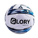 GLORY SPORTS Official Size PU Professional Hand Stitched Soccer Ball