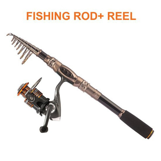 Combo Sea Saltwater Freshwater Kit Fishing Rod Kit