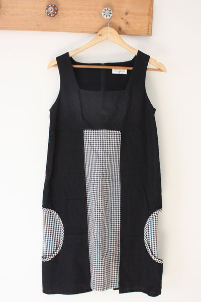 Black Circle Cut Out Dress