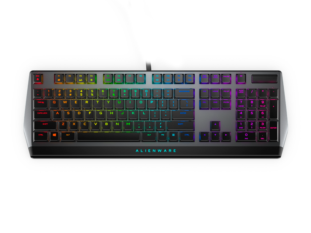 Alienware 510K Keyboard Dark Side of the Moon (Black)