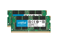Crucial 32GB DDR4 Kit SO-DIMM (2x16GB)