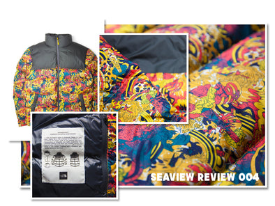 The Seaview Review 004- The North Face Genesis Print Nuptse