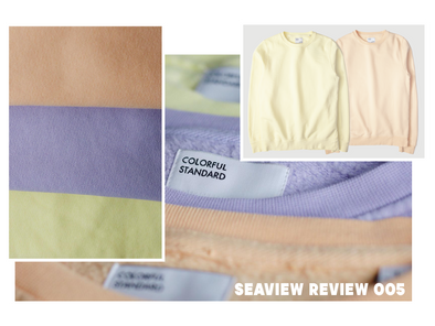 The Seaview Review 005- Colorful Standard Classic Organic Crew Sweatshirt