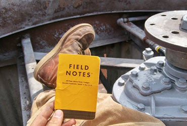 1856 Blog #3 - THE INSPIRATION BEHIND FIELD NOTES PRODUCTS