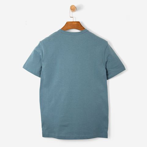 Champion Embroidered Logo Tee Blue