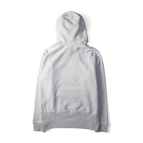 Champion X Wood Wood Box Logo Hooded Sweatshirt Grey