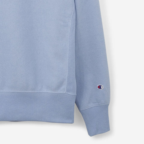 Champion 'C' Logo Crewneck Sweatshirt Blue