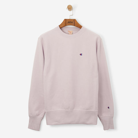 Champion 'C' Logo Crewneck Sweatshirt Heather