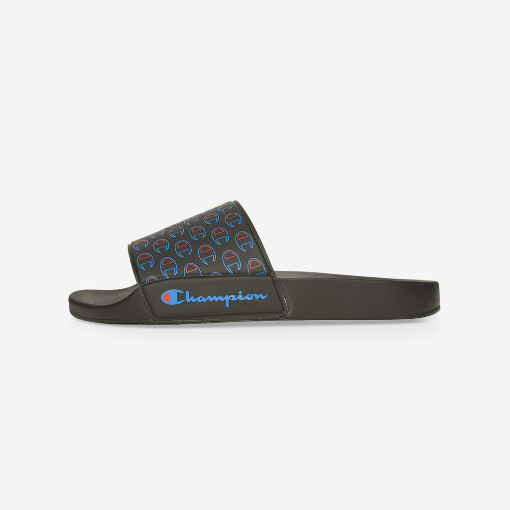 Champion Muilti Lido Allover Sliders Black