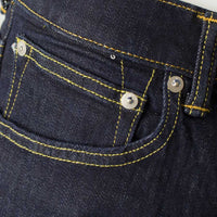 EDWIN ED-80 CS Red Listed Selvage Denim Rinsed
