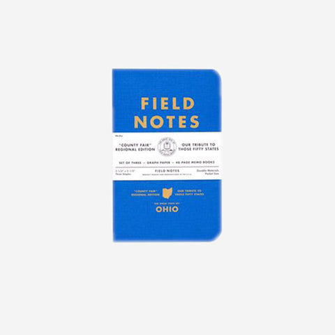 FIELD NOTES Ruled Paper Pack of Three
