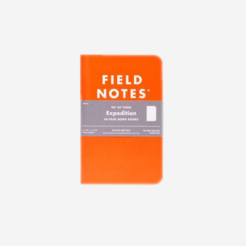FIELD NOTES Expedition Memo Books - Set Of Three-Field Notes-Grants 1856