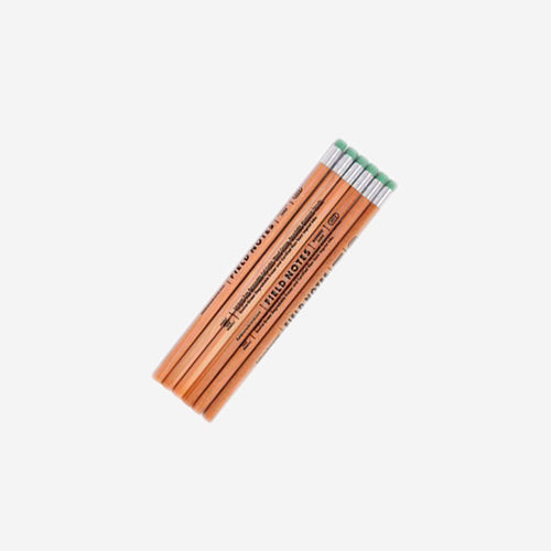 FIELD NOTES No. 2 Woodgrain Pencil 6 - Pack