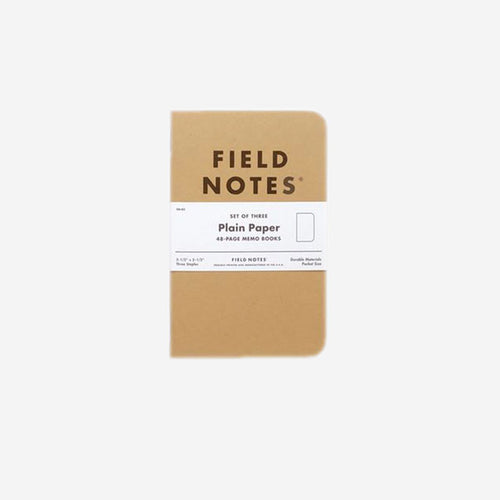 FIELD NOTES Plain Paper Pack of Three-Field Notes-Grants 1856