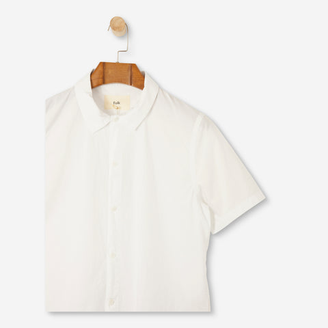 Folk Gabe Shirt White