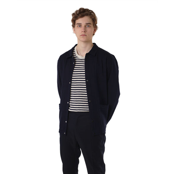 Folk Horizon Jacket Indigo Twill