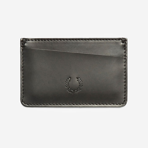 Fred Perry Leather Card Holder Black