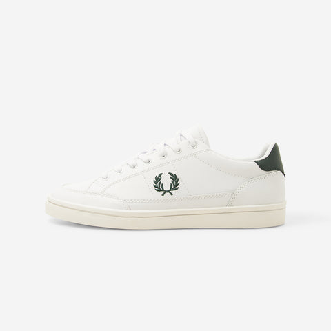 Fred Perry Deuce Leather Trainers White