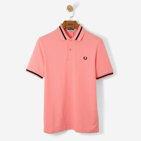 Fred Perry Reissue Single Tipped Polo Shirt Sherbet