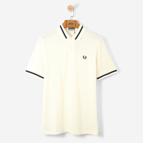 Fred Perry Reissue Single Tipped Polo Shirt Snow White