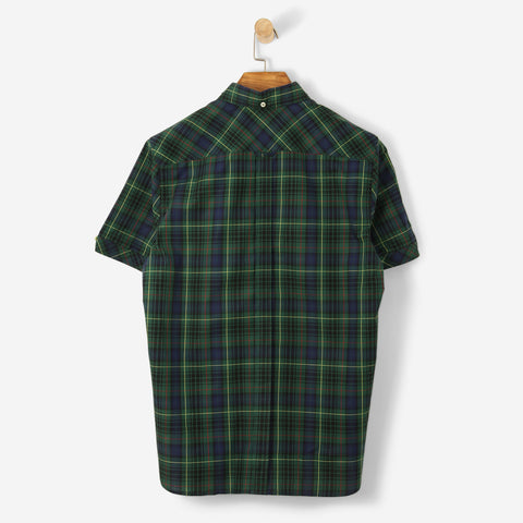 Fred Perry Reissues S/S Tartan Shirt Ivy