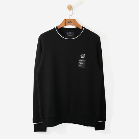 Fred Perry x ACF Pique Sweatshirt Black