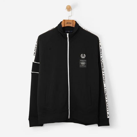 Fred Perry x ACF Taped Track Jacket Black