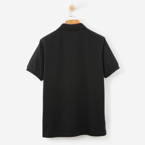 Fred Perry x Raf Simons Pocket Detail Pique Shirt Black