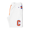 Champion 'C' Logo Bermuda Shorts White/Orange