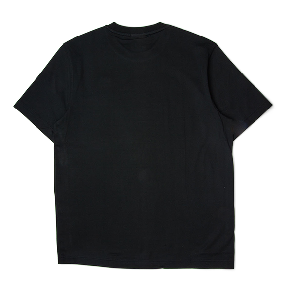 Lacoste LIVE Crew Neck Lettered Tee Black