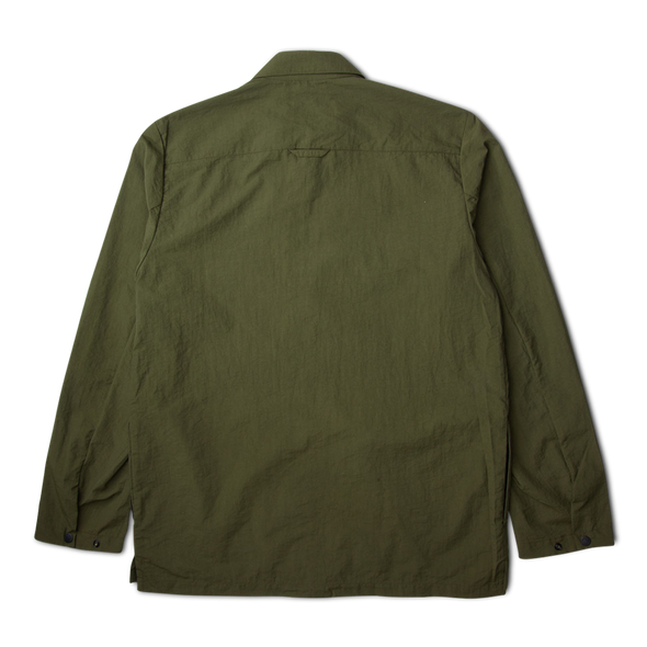 Norse Projects Jens Zip Jacket/Overshirt Ivy Green