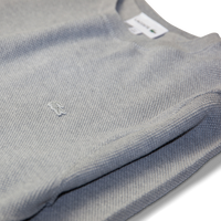 Lacoste Crew Piqué Sweat Grey