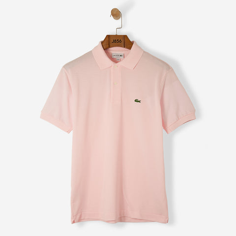 Lacoste Classic Basic Logo Polo Shirt Baby Pink