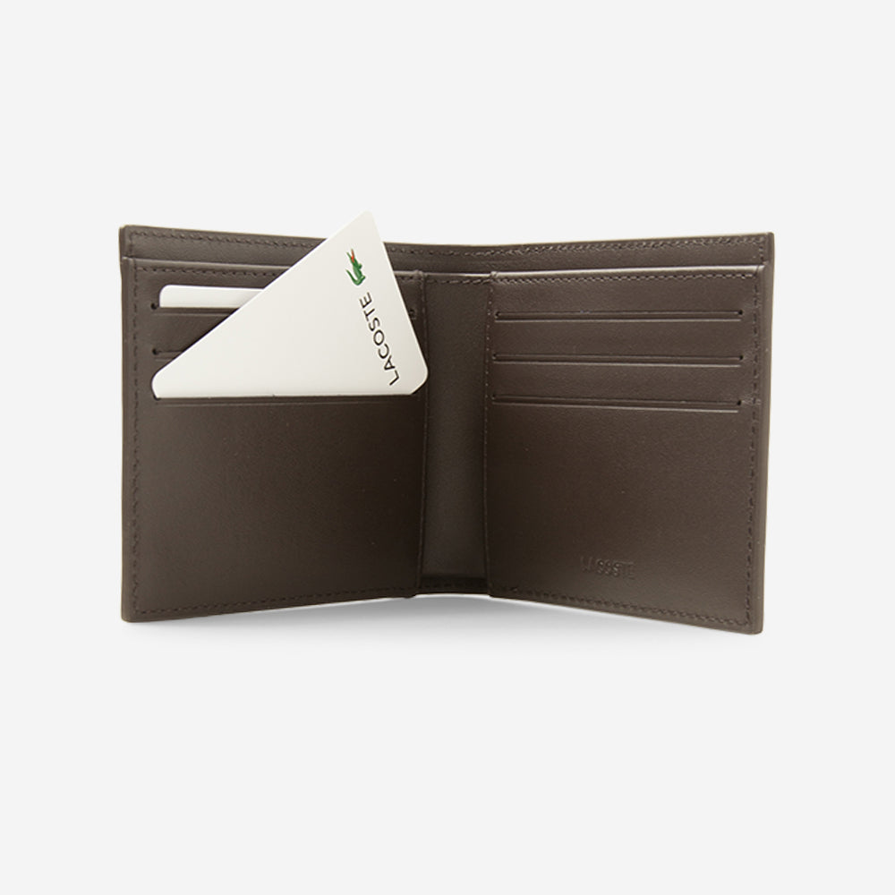 Lacoste Classic Wallet Dark Brown