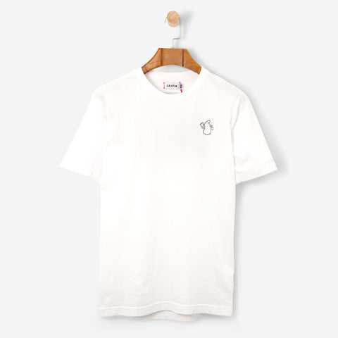 Le Fix Ovo Tee White
