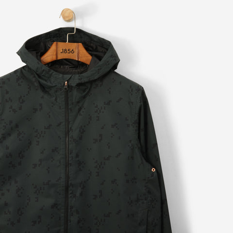Levi's Commuter Pro Windbreaker Parakeet Summit Slate Print
