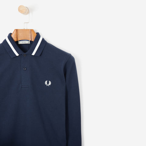 Fred Perry Reissues L/S Single Tipped FP Shirt