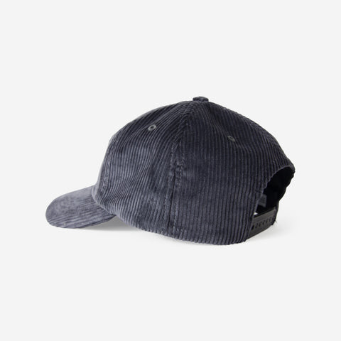 Norse Projects 6 Panel Corduroy Cap Mouse Grey